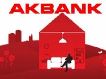Akbank'tan %1,28 Faiz Oranlı Konut Kredisi