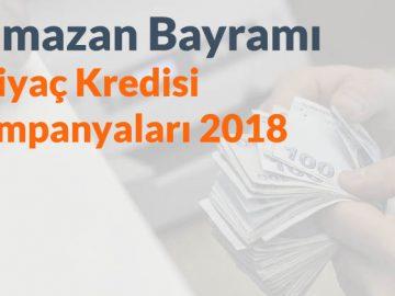 Ramazan Bayramı İhtiyaç Kredisi Kampanyaları 2019